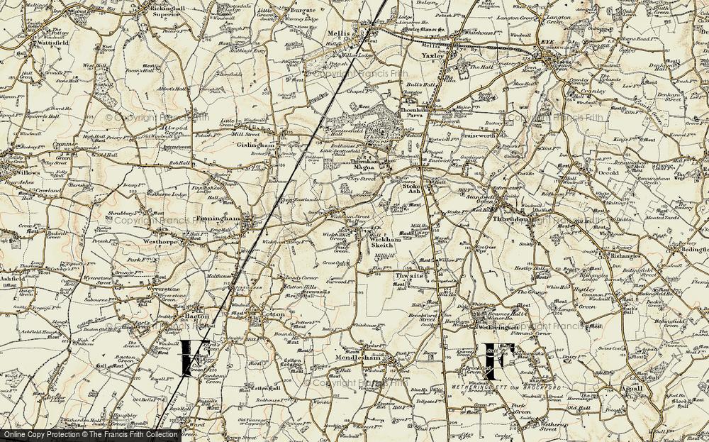 Wickham Skeith, 1901