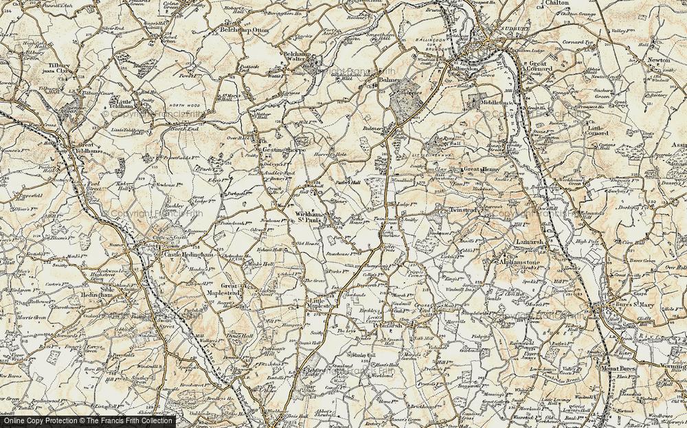 Wickham St Paul, 1898-1901