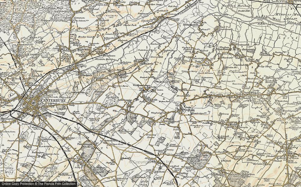 Wickhambreaux, 1898-1899