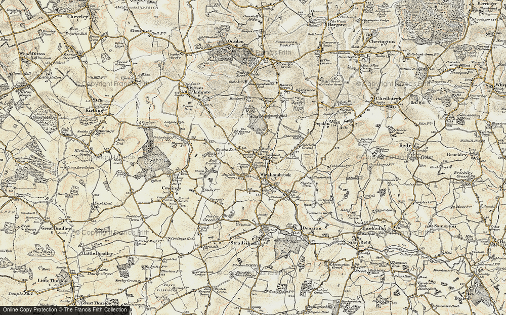 Wickhambrook, 1899-1901