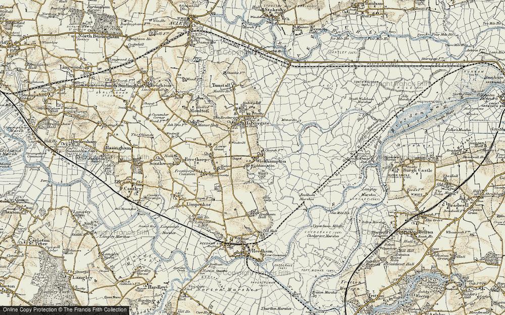 Wickhampton, 1901-1902