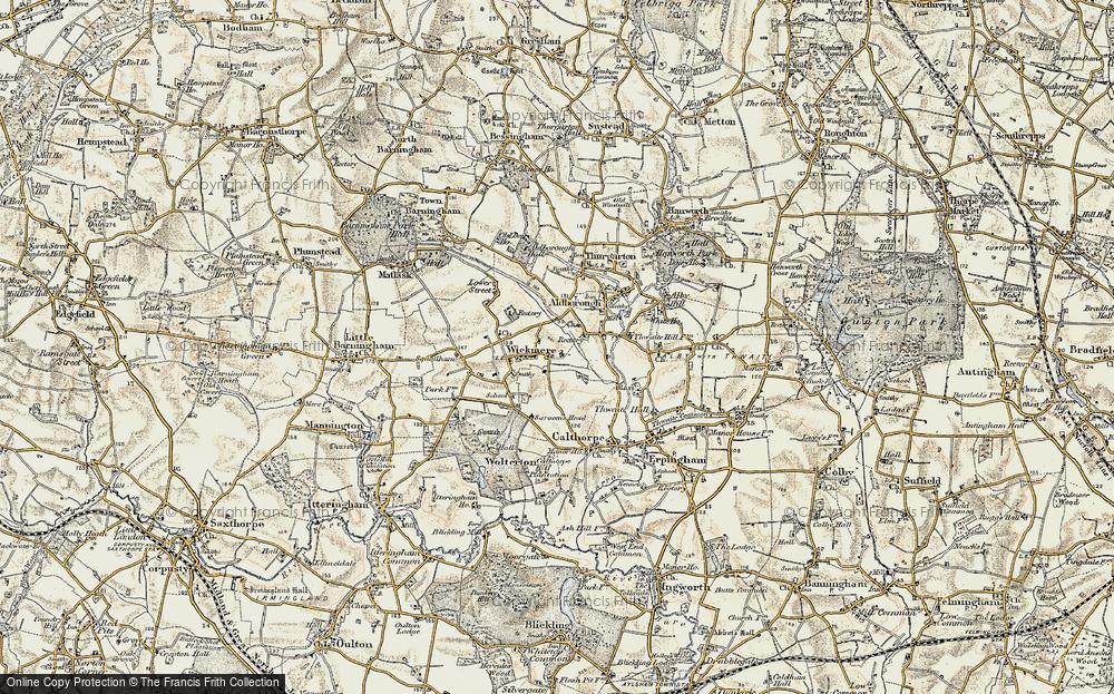 Wickmere, 1901-1902