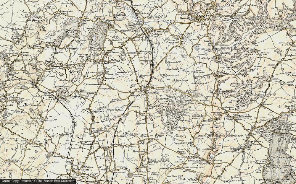 Wickwar, 1898-1899