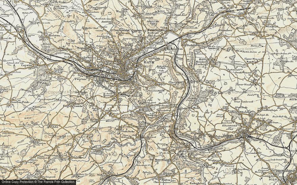 Widcombe, 1898-1899