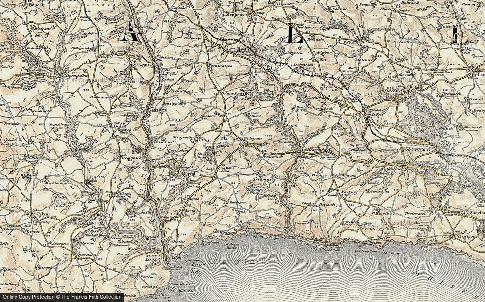 Widegates, 1900