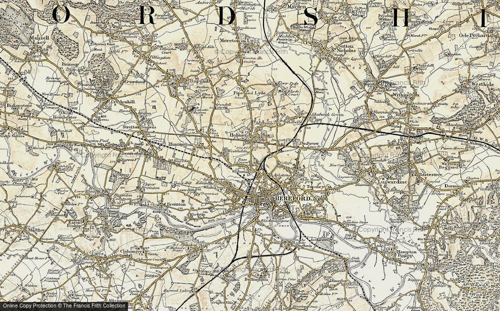 Widemarsh, 1900-1901