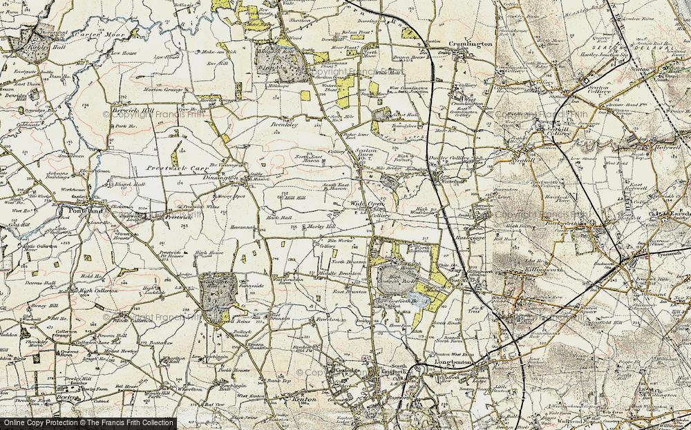 Wideopen, 1901-1903