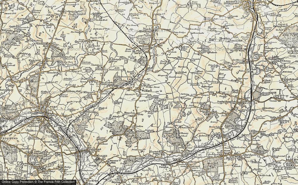 Widford, 1898-1899