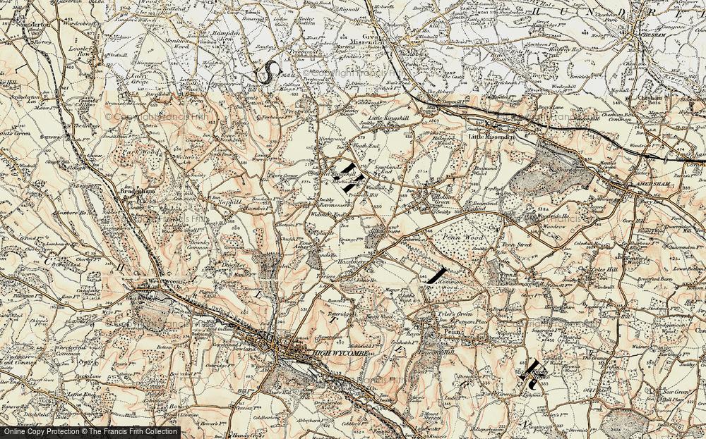 Widmer End, 1897-1898