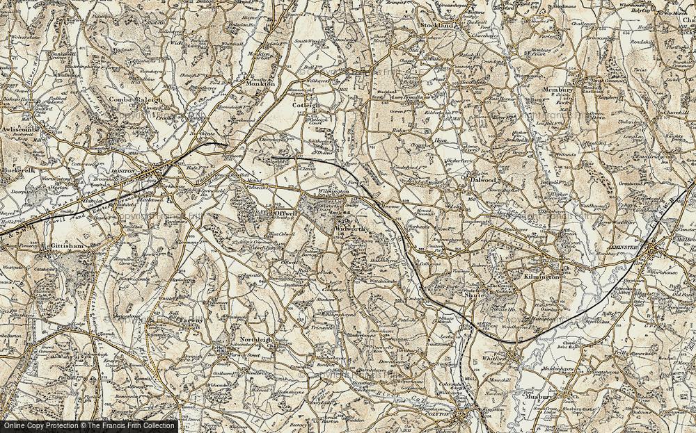 Widworthy, 1898-1900
