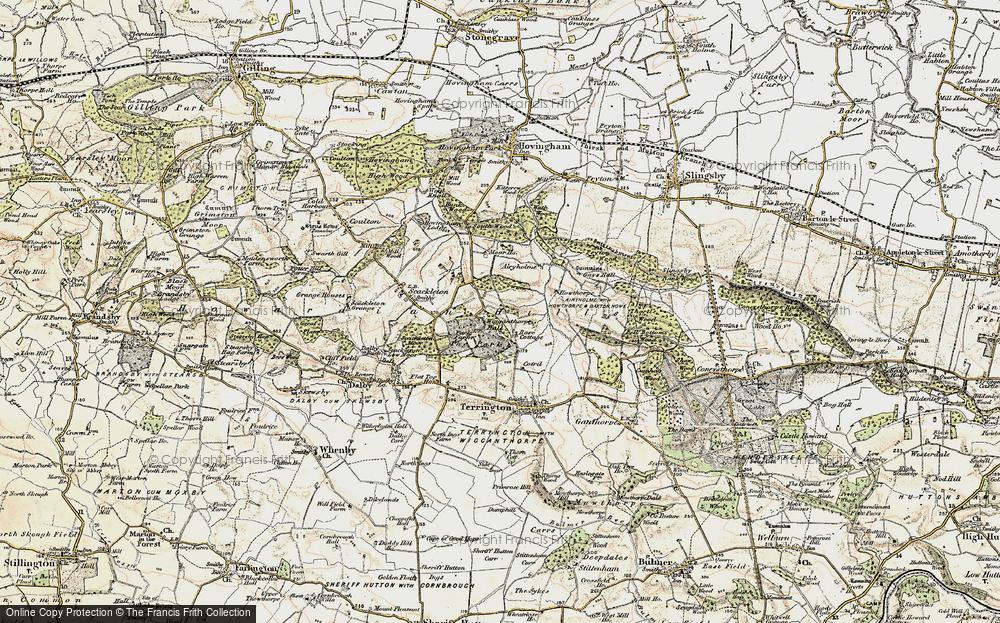 Wiganthorpe, 1903-1904