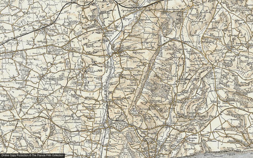 Wiggaton, 1899