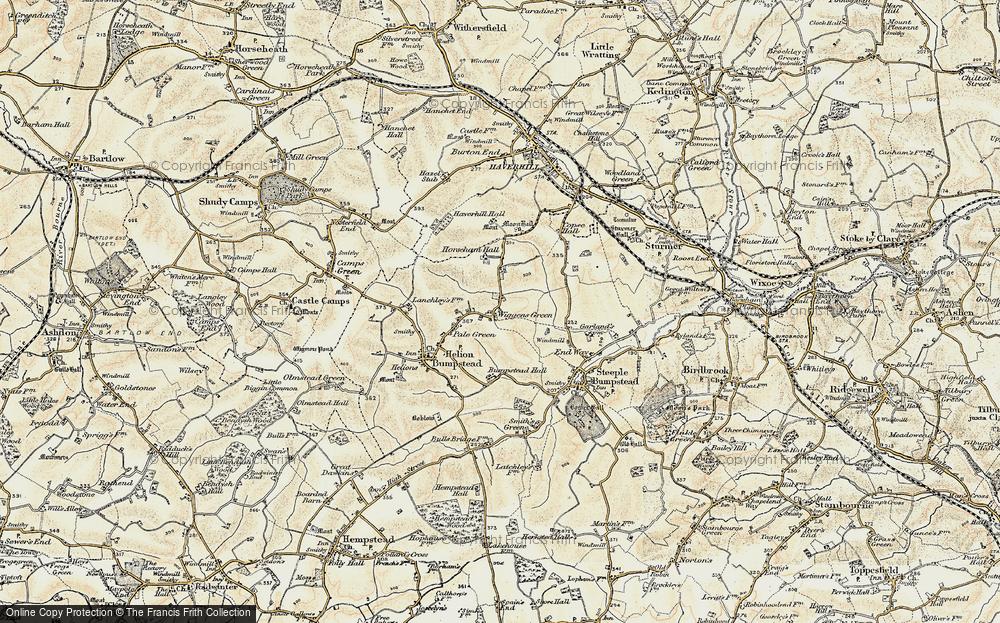 Wiggens Green, 1898-1901