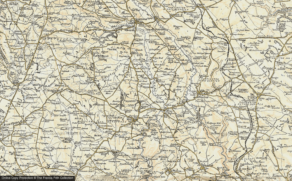 Old Map of Wigginstall, 1902-1903 in 1902-1903