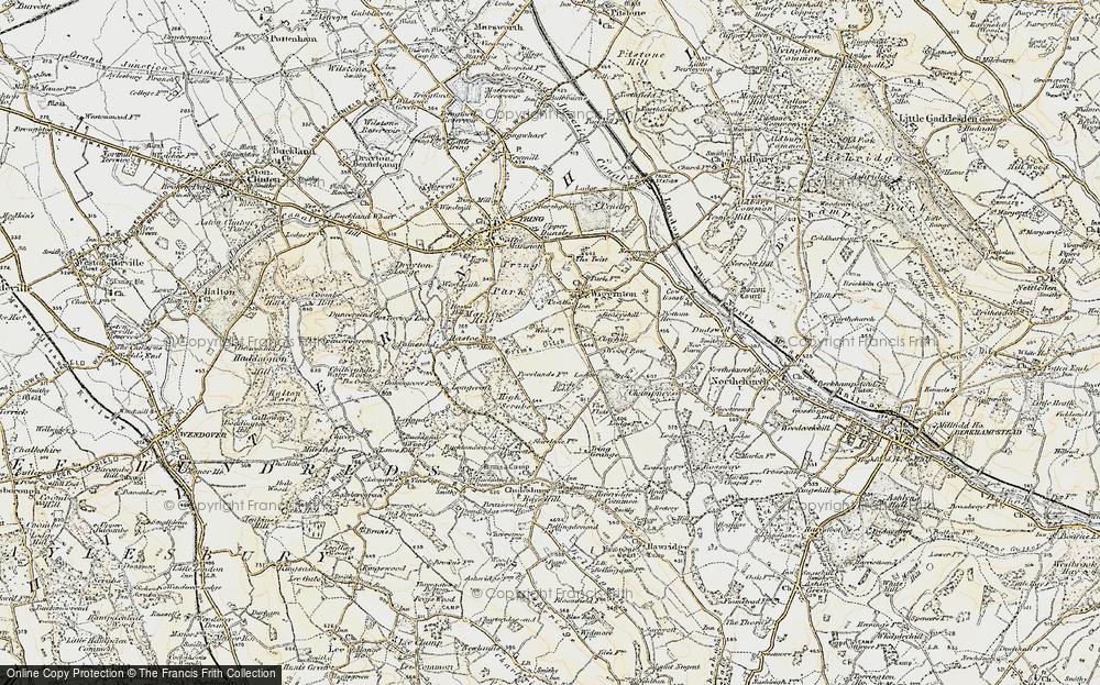 Wigginton Bottom, 1898