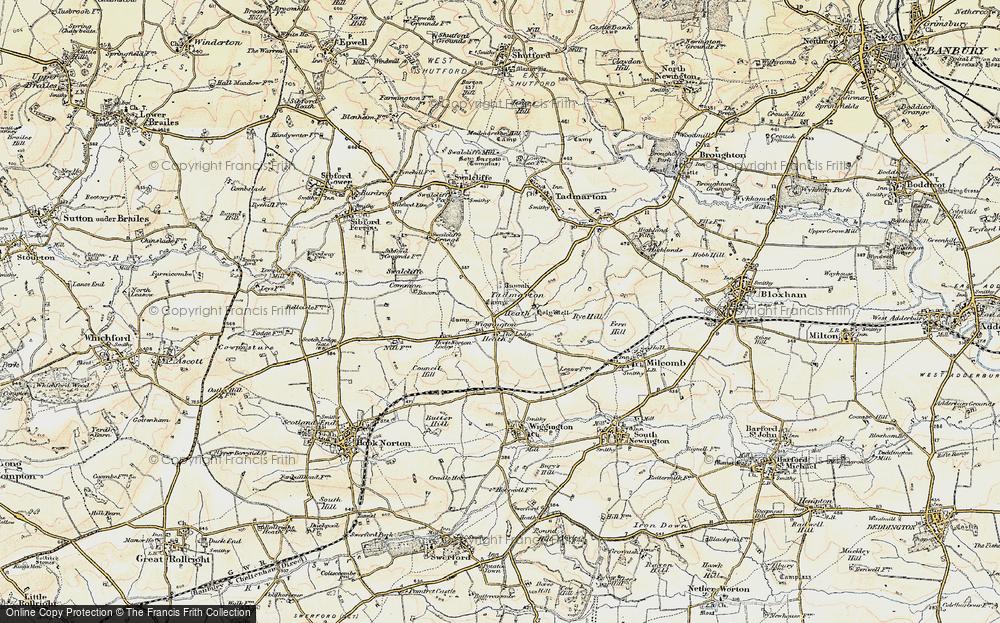 Old Map of Wigginton Heath, 1898-1901 in 1898-1901