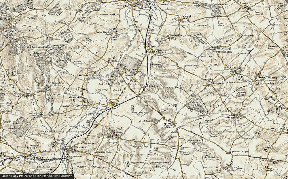 Wigsthorpe, 1901-1902