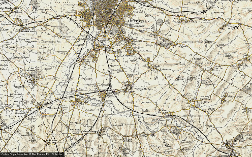 Wigston, 1901-1903
