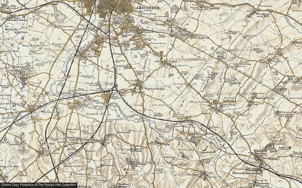Wigston Magna, 1901-1903