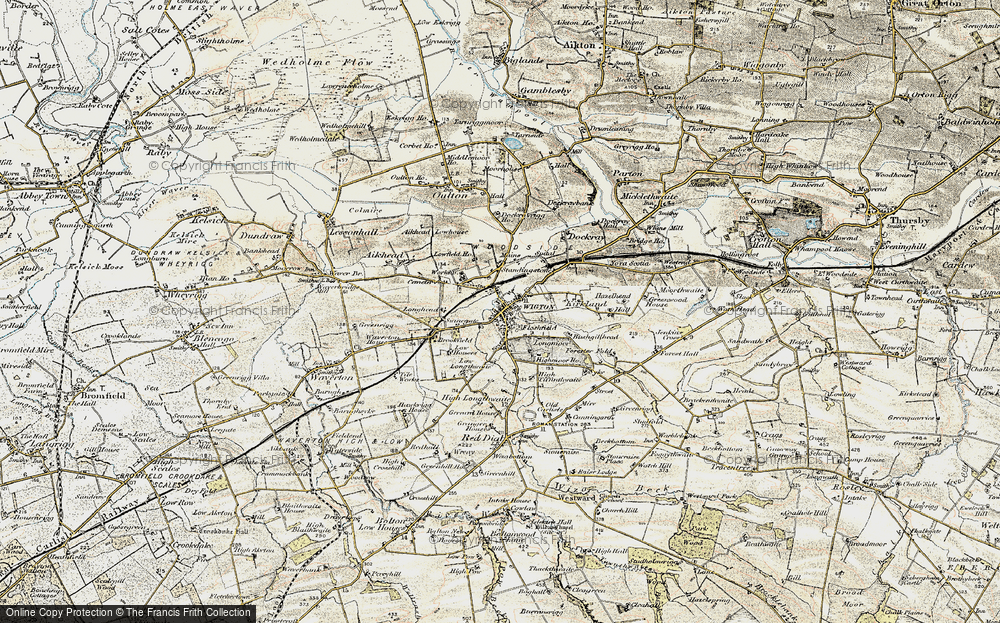 Wigton, 1901-1904