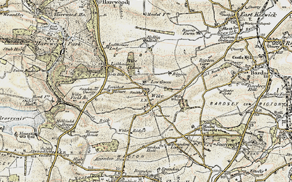 Old map of Wike Whin in 1903-1904