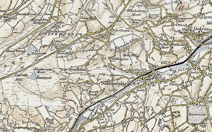 Old map of Wilberlee in 1903