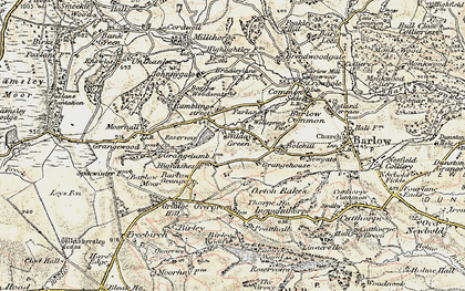Old map of Wilday Green in 1902-1903