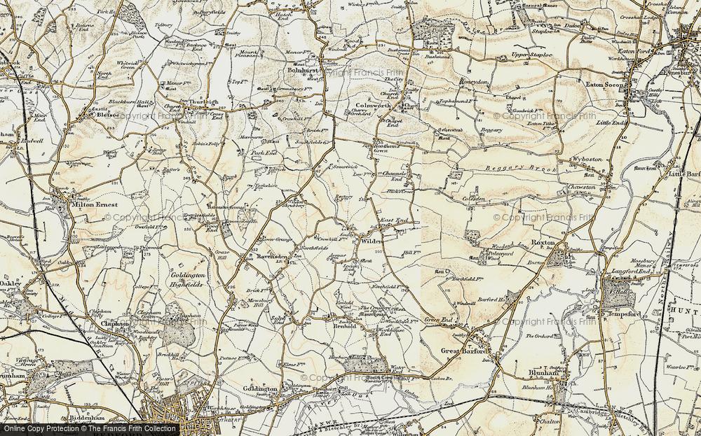 Wilden, 1898-1901