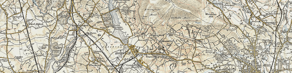 Old map of Wilderswood in 1903