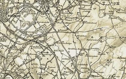 Old map of Wildmanbridge in 1904-1905