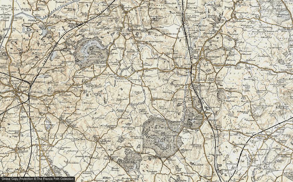 Wilkesley, 1902