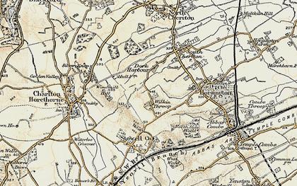 Old map of Wilkinthroop in 1899