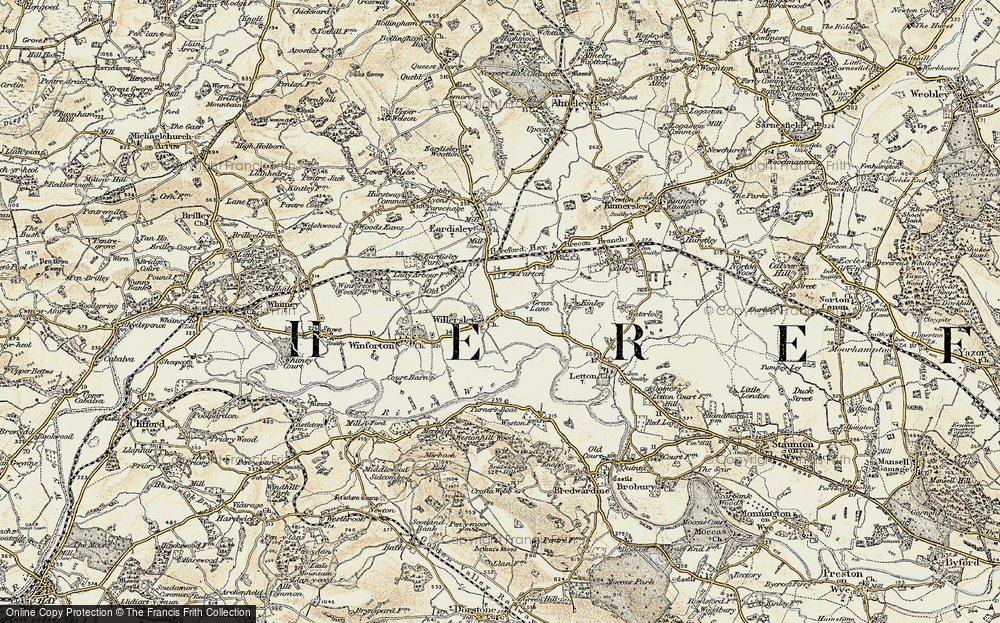 Willersley, 1900-1901