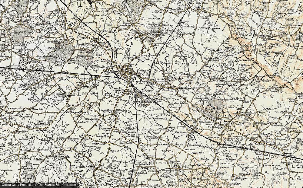 Willesborough, 1897-1898