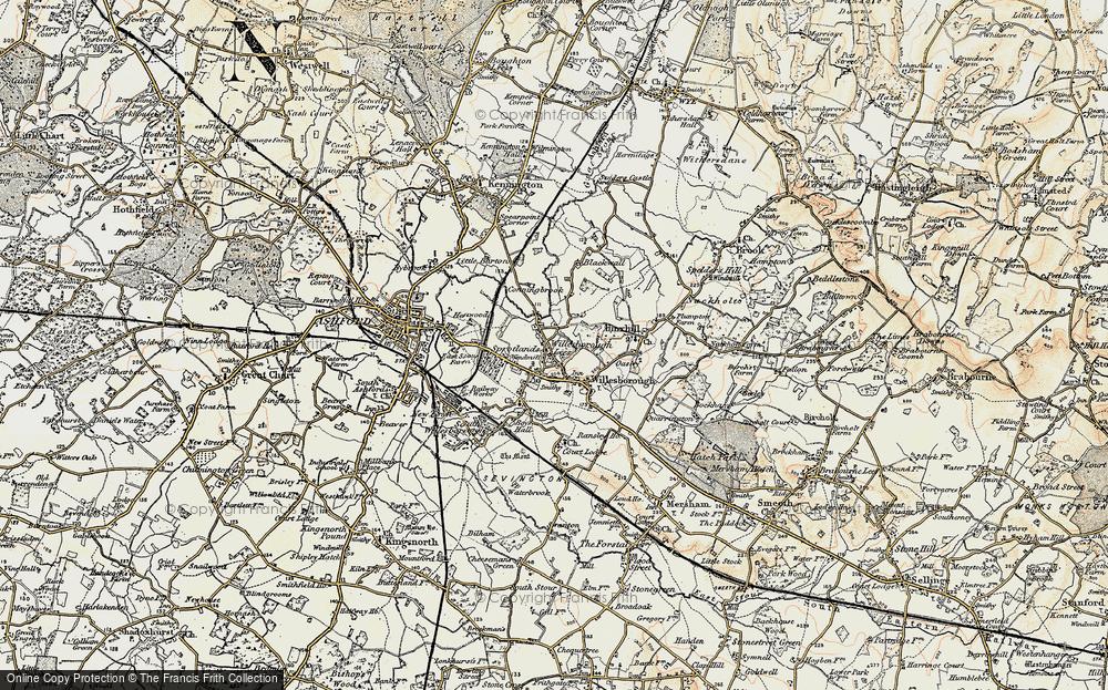 Willesborough Lees, 1897-1898
