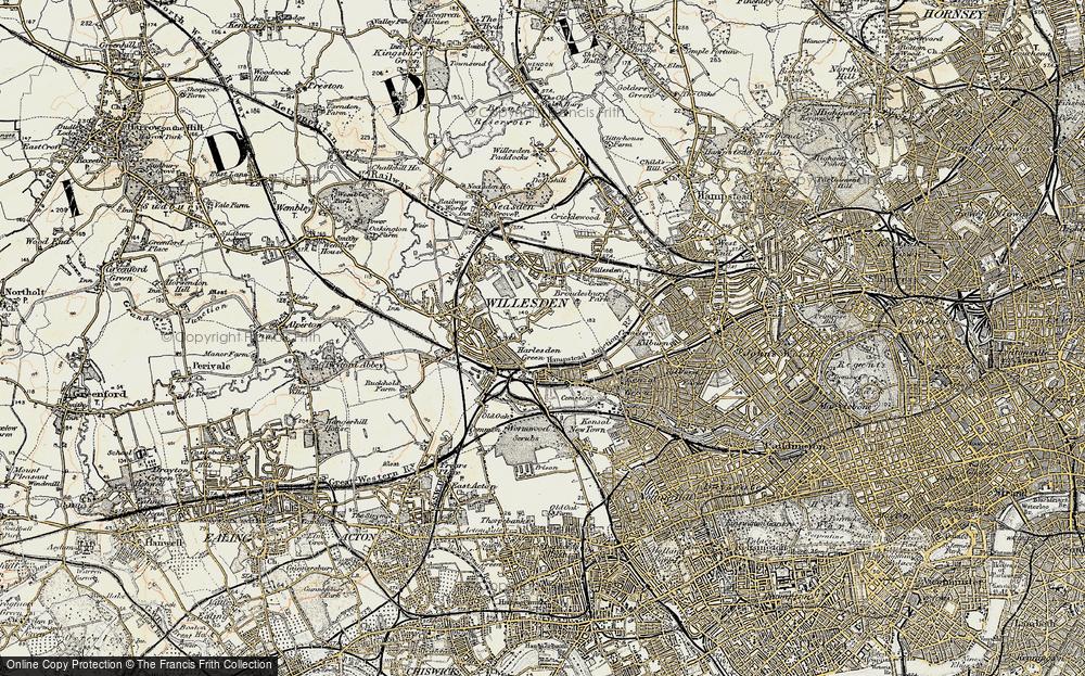 Willesden Green, 1897-1909