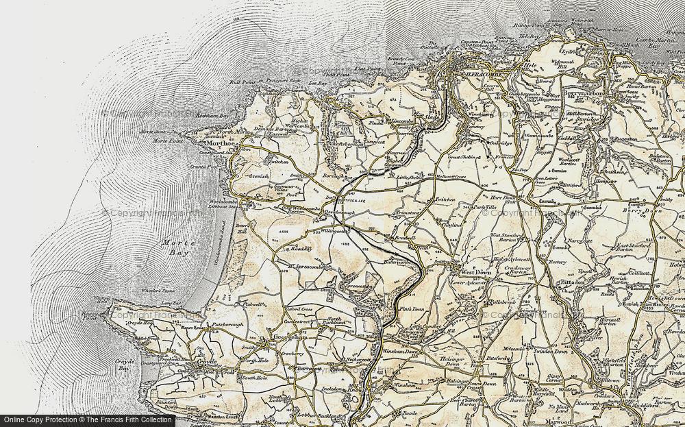 Willingcott, 1900