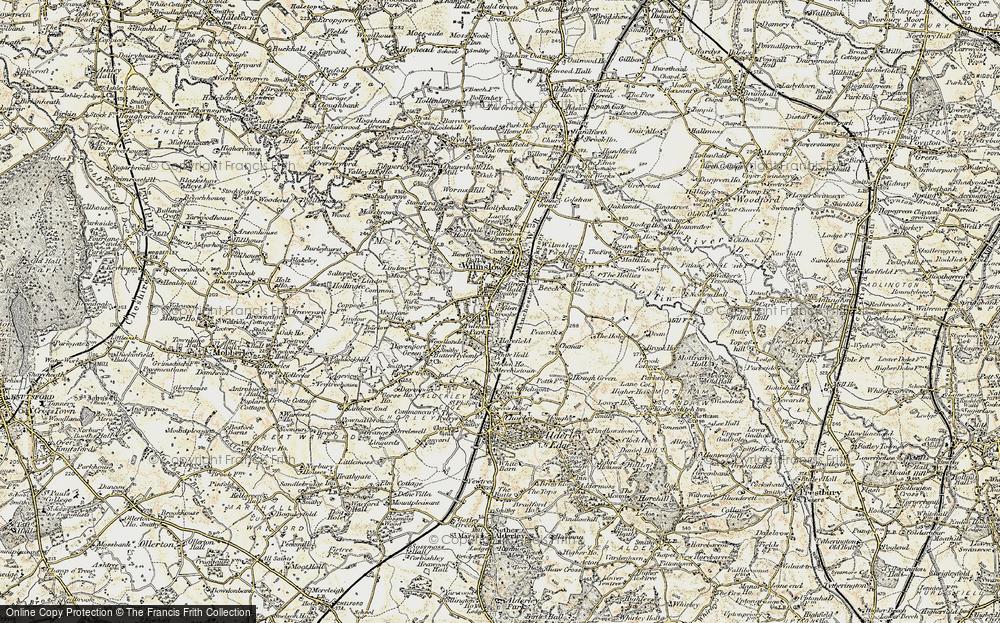 Wilmslow, 1902-1903