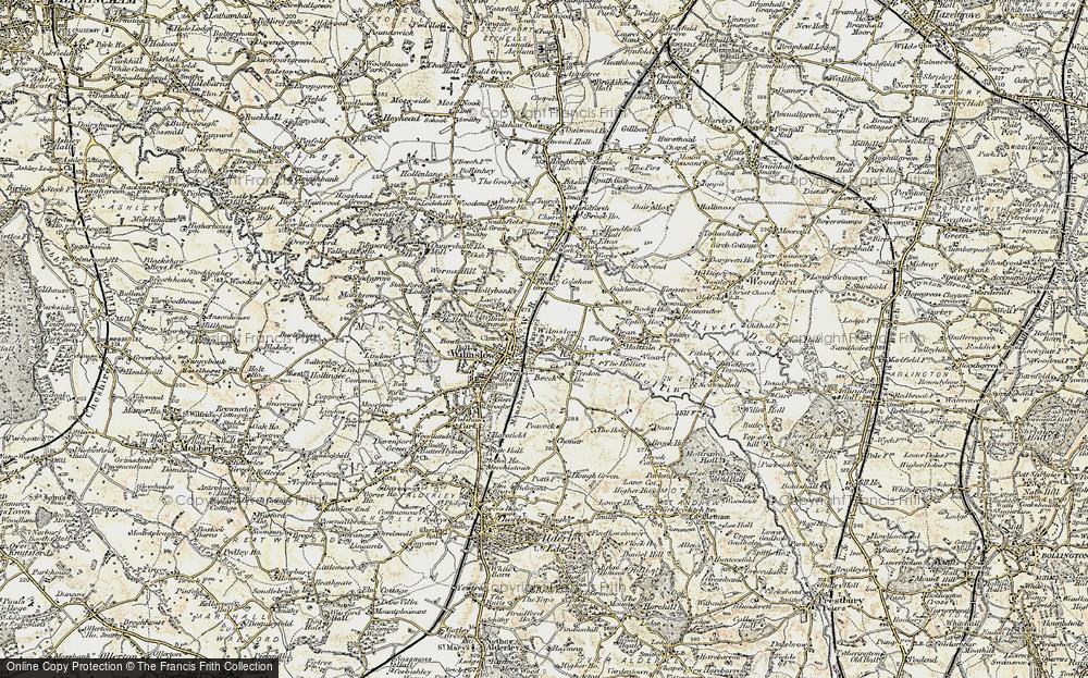 Wilmslow Park, 1902-1903