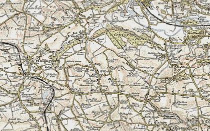 Old map of Wilsden in 1903-1904