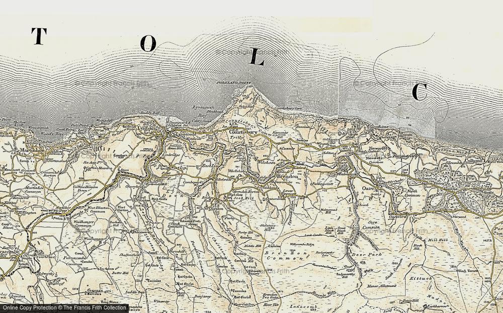 Wilsham, 1900