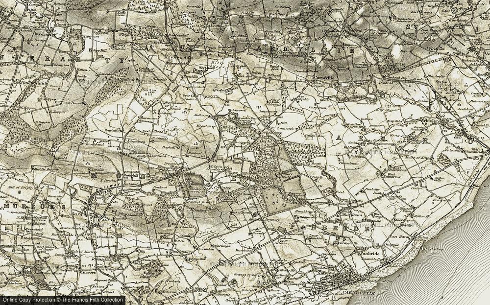 Wilsonhall, 1907-1908