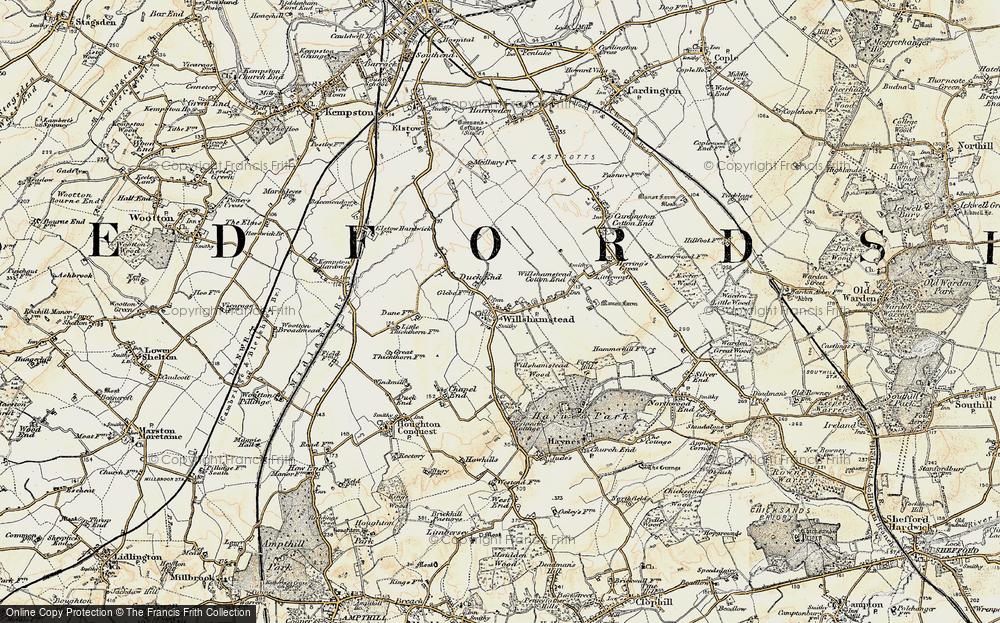 Wilstead, 1898-1901