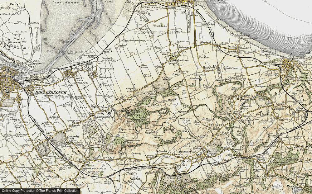 Old Map of Wilton, 1903-1904 in 1903-1904
