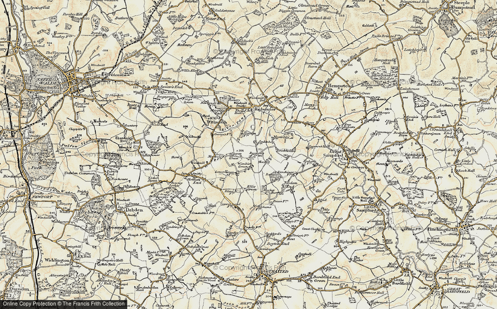 Wimbish Green, 1898-1901