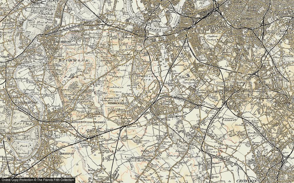 Wimbledon, 1897-1909