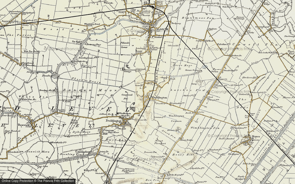Wimblington, 1901