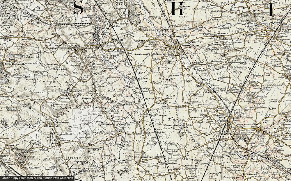 Wimboldsley, 1902-1903