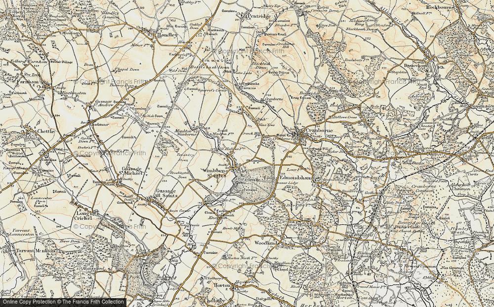 Wimborne St Giles, 1897-1909