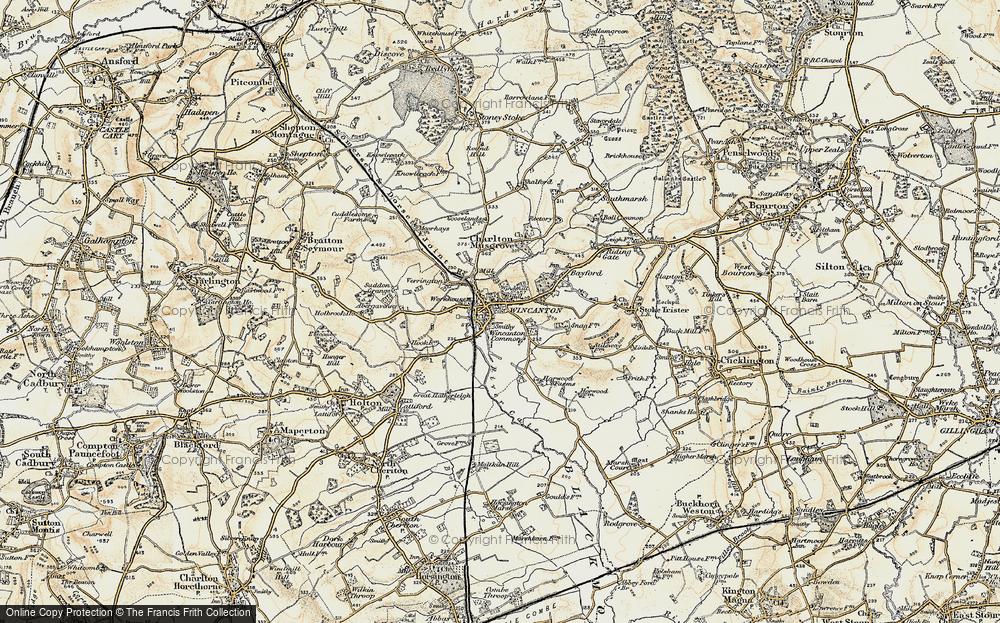 Wincanton, 1897-1899